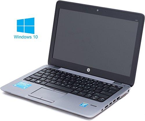 HP Elitebook 820 G1 Notebook / Laptop | 12.5 Zoll Display | Intel Core i7-4600U @ 2,1 GHz | 4GB DDR3 RAM | 180 GB SSD | Windows 10 Pro vorinstalliert (Zertifiziert und Generalüberholt)