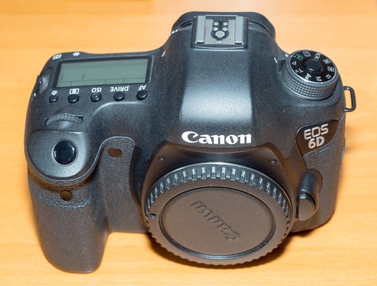 Canon EOS 6D body, 20 MPixel Vollformat, GPS+Wifi,ca. 4400 Auslösungen, OVP