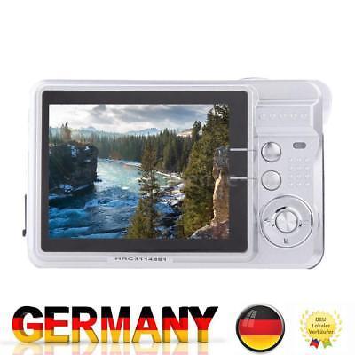 Kompakt DigitalKamera Video Camcorder HD 18MP 8X ZOOM Smile Capture Anti Shake