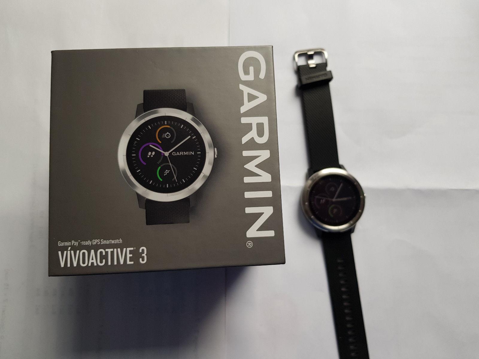 Garmin Vivoactive 3 Garmin Pay GPS Smartwatch Sportuhr Laufuhr Multisport