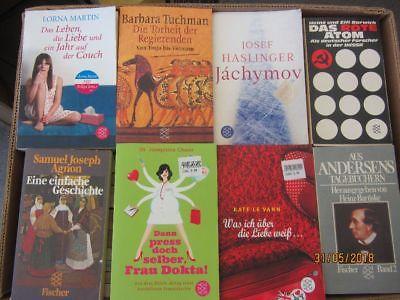 118 Bücher Taschenbücher Fischer Verlag