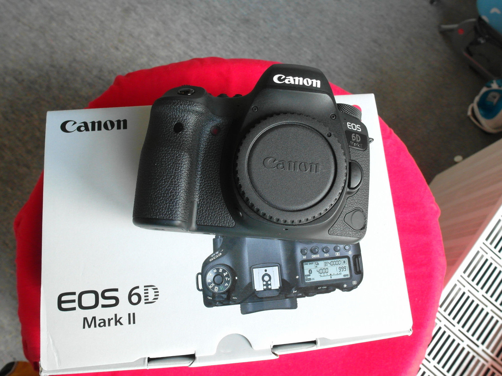 Canon EOS 6D Mark II 26.2MP Digitalkamera SEHR GUT