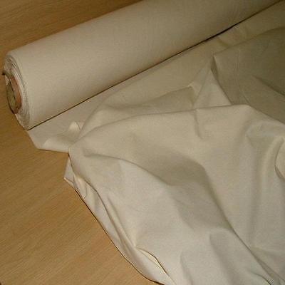 100% NATURAL COTTON CALICO medium weight craft fabric material 60