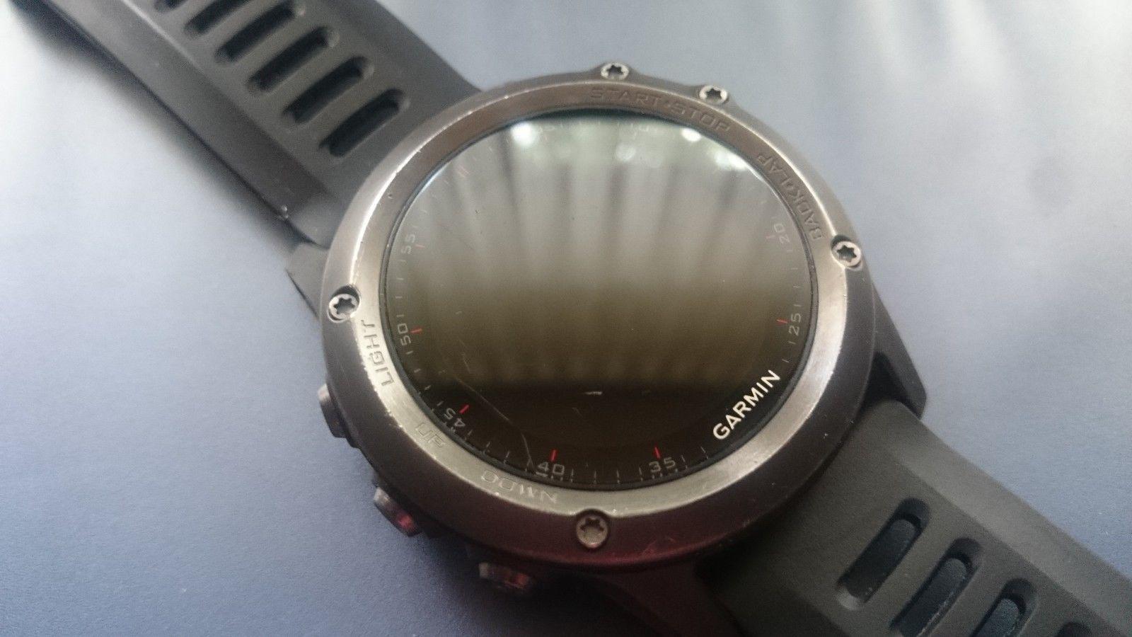 Garmin Fenix 3 GPS Uhr Sportuhr Laufuhr Multisportuhr - Schwarz