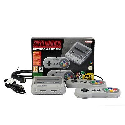 Nintendo Classic Mini SNES Super Nintendo Entertainment System inkl. 21 Spiele !