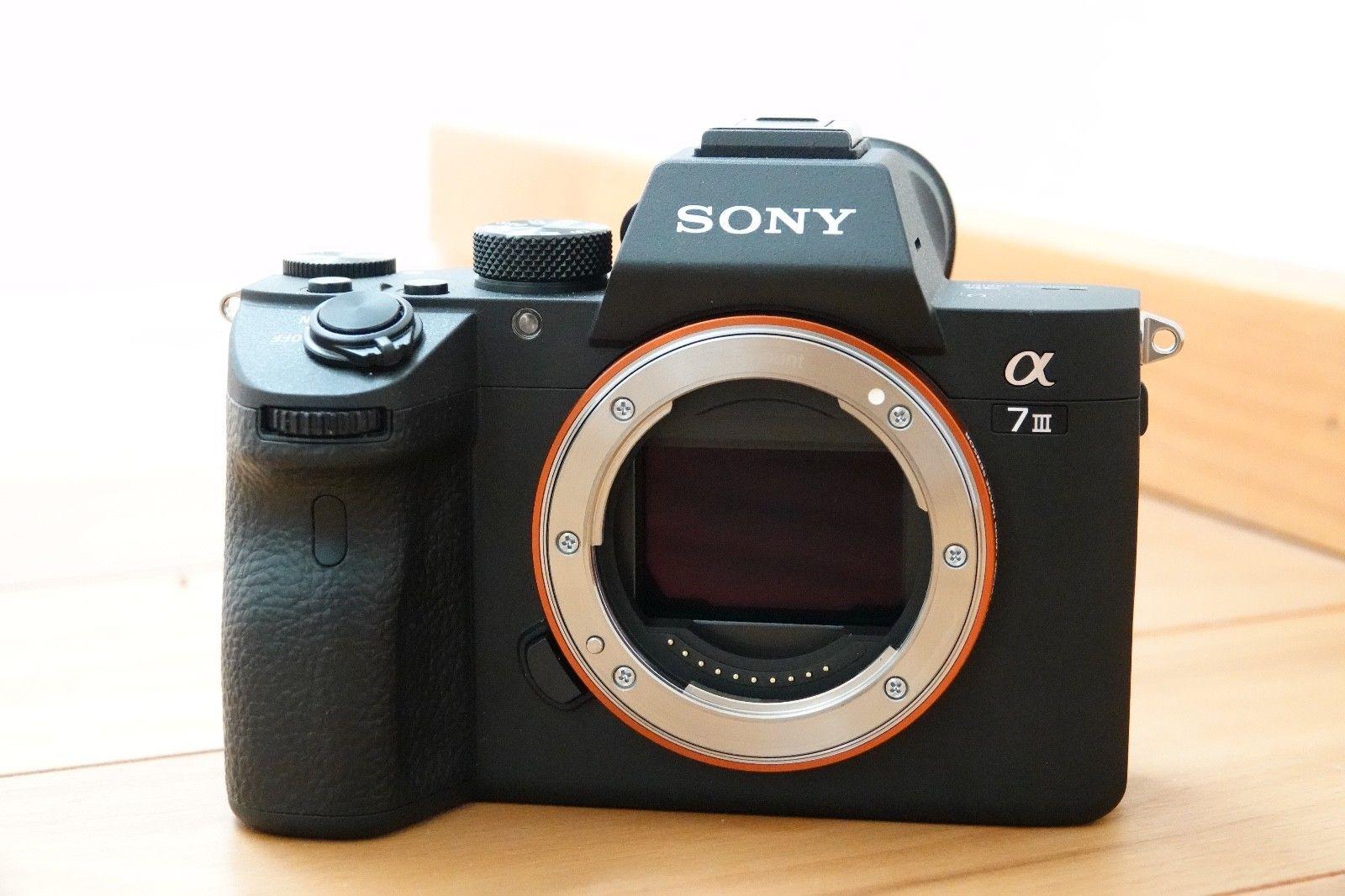 Sony Alpha A7 III ILCE-7M3 (neuwertig, Garantie, 5 Jahre Pannenschutz)