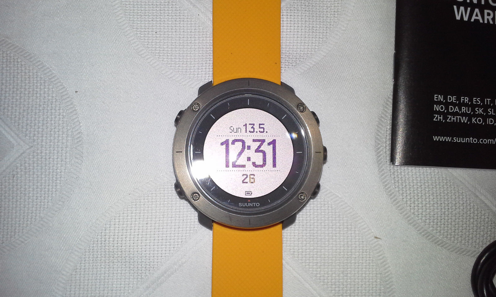 NEU Suunto Traverse Amber GPS BlueTooth Uhr