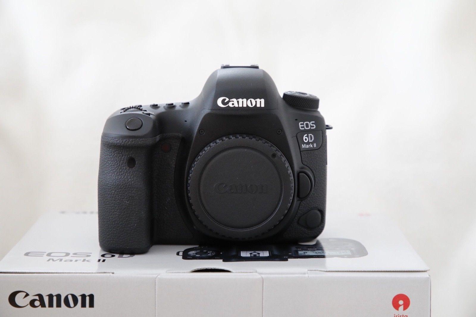 Canon EOS 6D Mark II 26.2MP Body nur ca. 2.200 Auslösungen