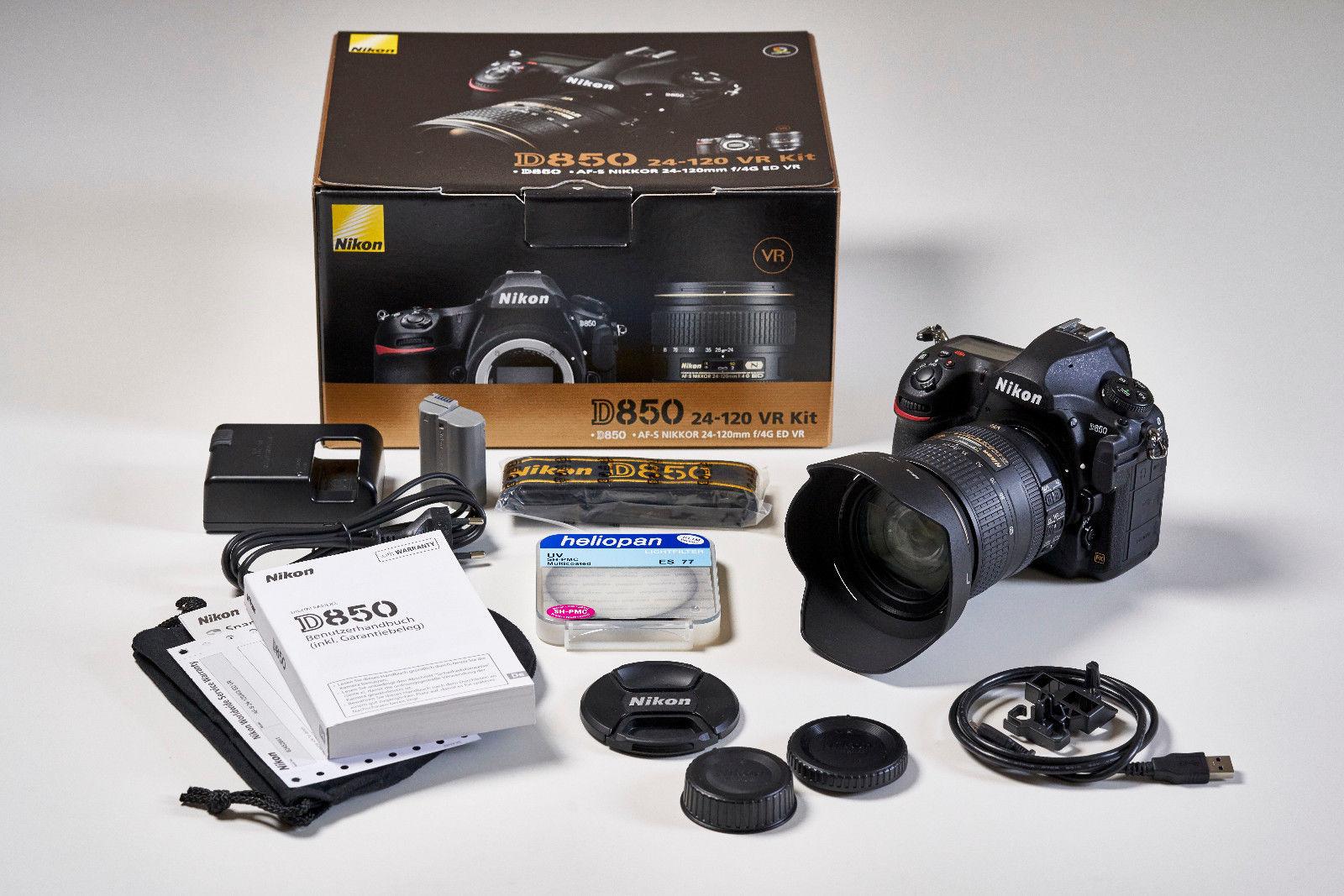 NIKON D850 mit Kit-Objektiv mit AF-S Nikkor 24-120mm f/4 ED