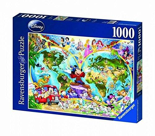 Ravensburger 15785 Disney's Weltkarte