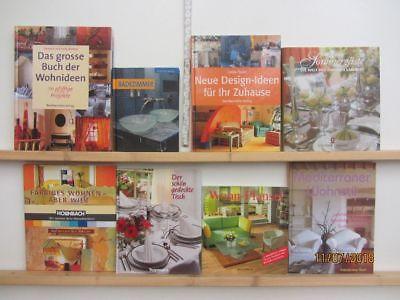 23 Bücher Schönes Wohnen Inneneinrichtung Dekoration Wohndesign Renovieren