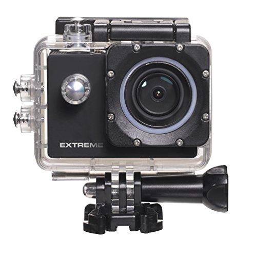 Nikkei ExtremeX6 Ultra HD Aktion Kamera mit Wifi,4K 30FPS Full HD-60FPS 720P-120FPS Wifi Bildschirm,Schwarz