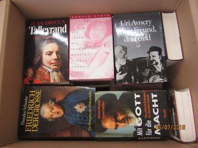 32 Bücher Biografie Biographie Memoiren Autobiografie Lebenserinnerung
