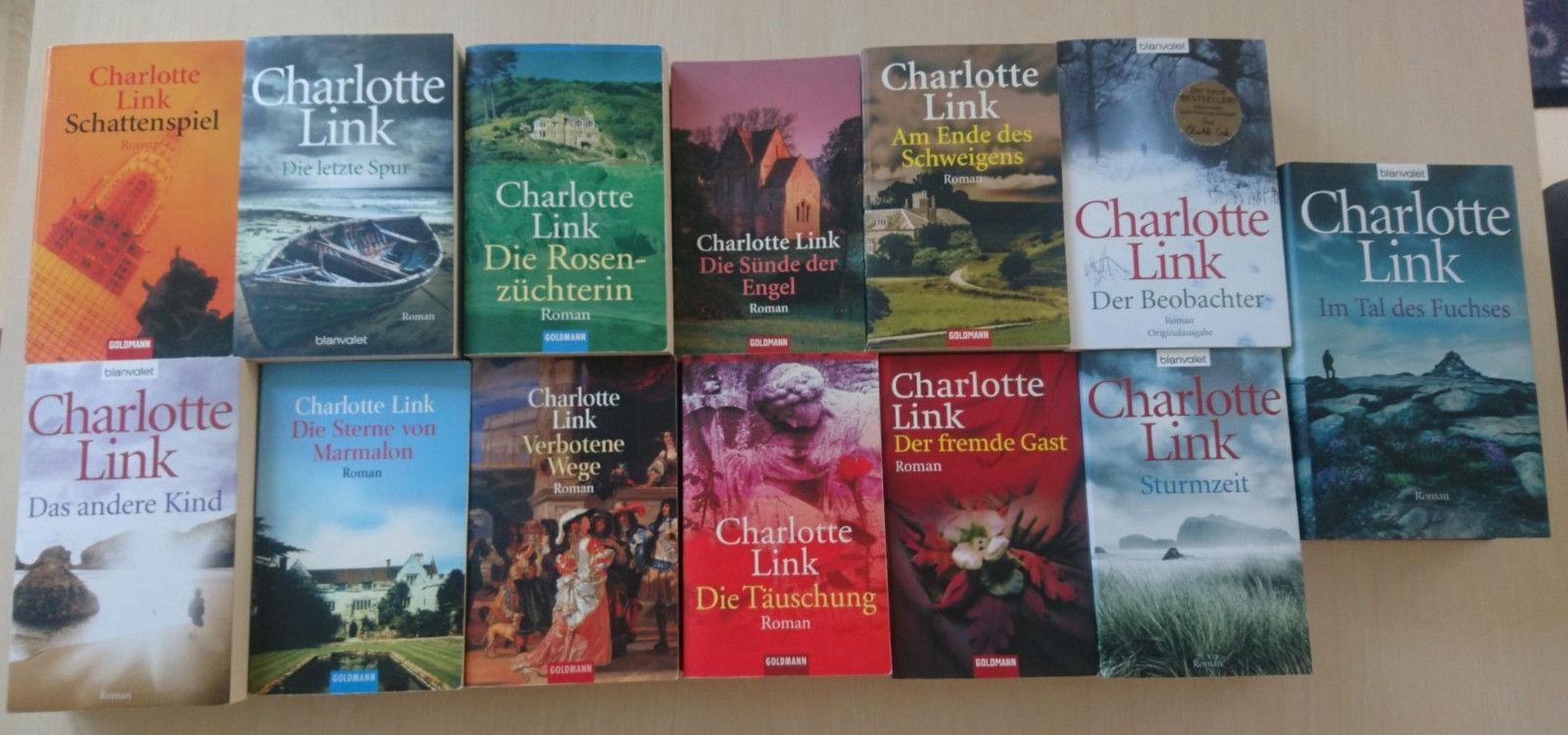 Charlotte Link Bücherpaket Sammlung (13 Bücher)