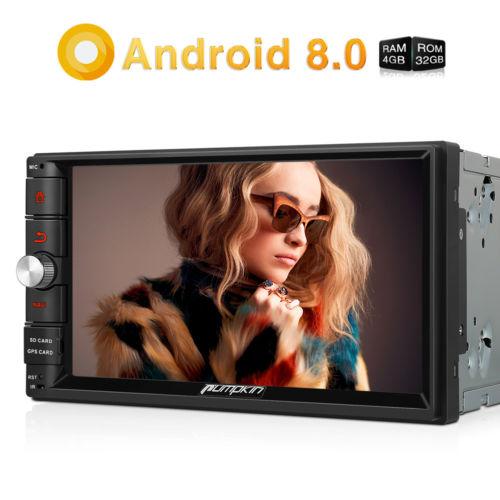 Android 8.0 OCTA CORE Autoradio 4GB RAM 32GB ROM 7