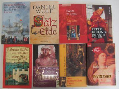 50 Bücher Romane historische Romane Top Titel Bestseller