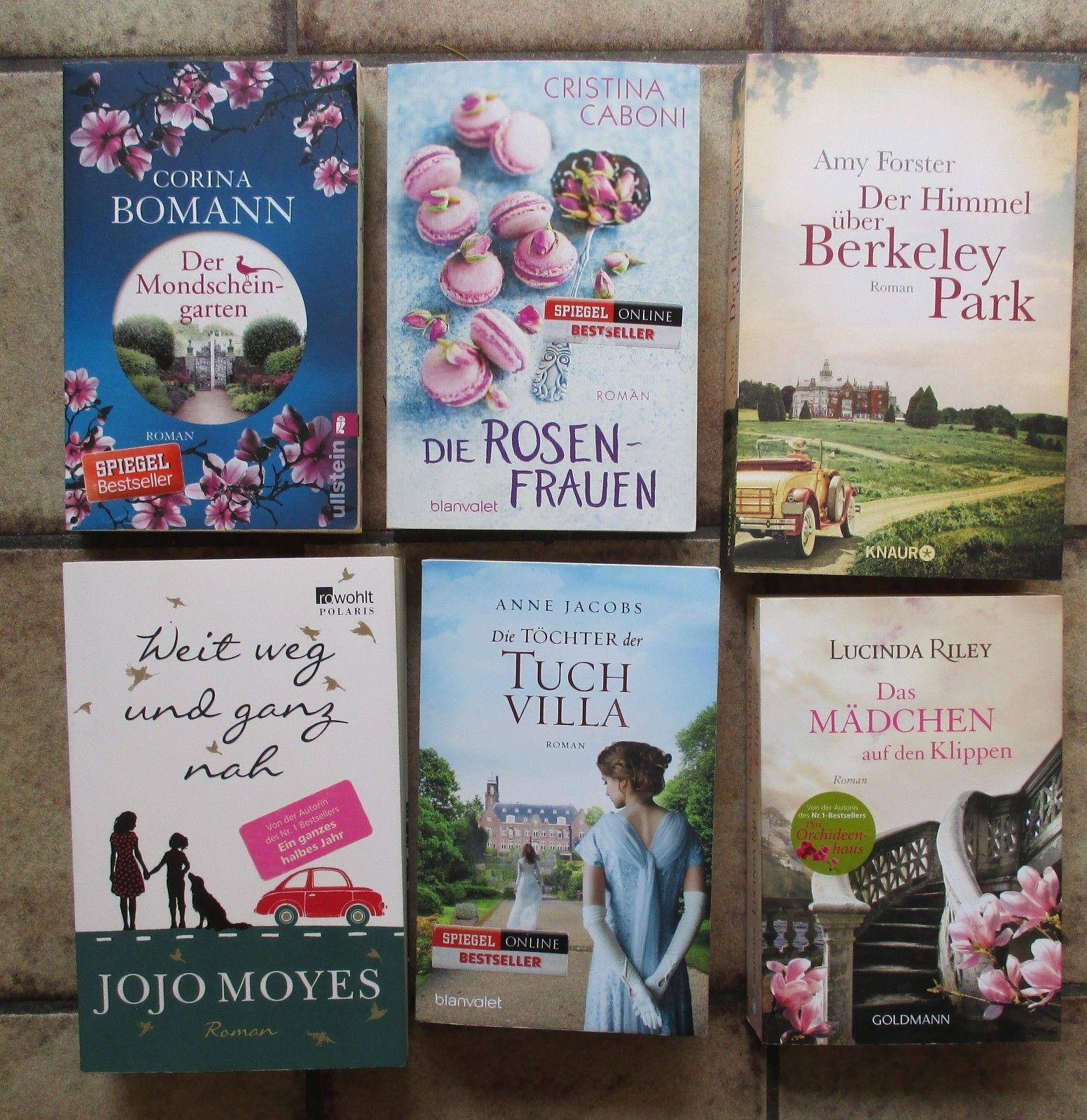 Bücherpaket Frauenromane Anne Jacobs, Lucinda Riley, Corina Bomann, Caboni u.a.