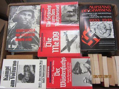 56 Bücher Bildbände Dokumentation 2. WK 3. Reich NSDAP Nationalsozialismus