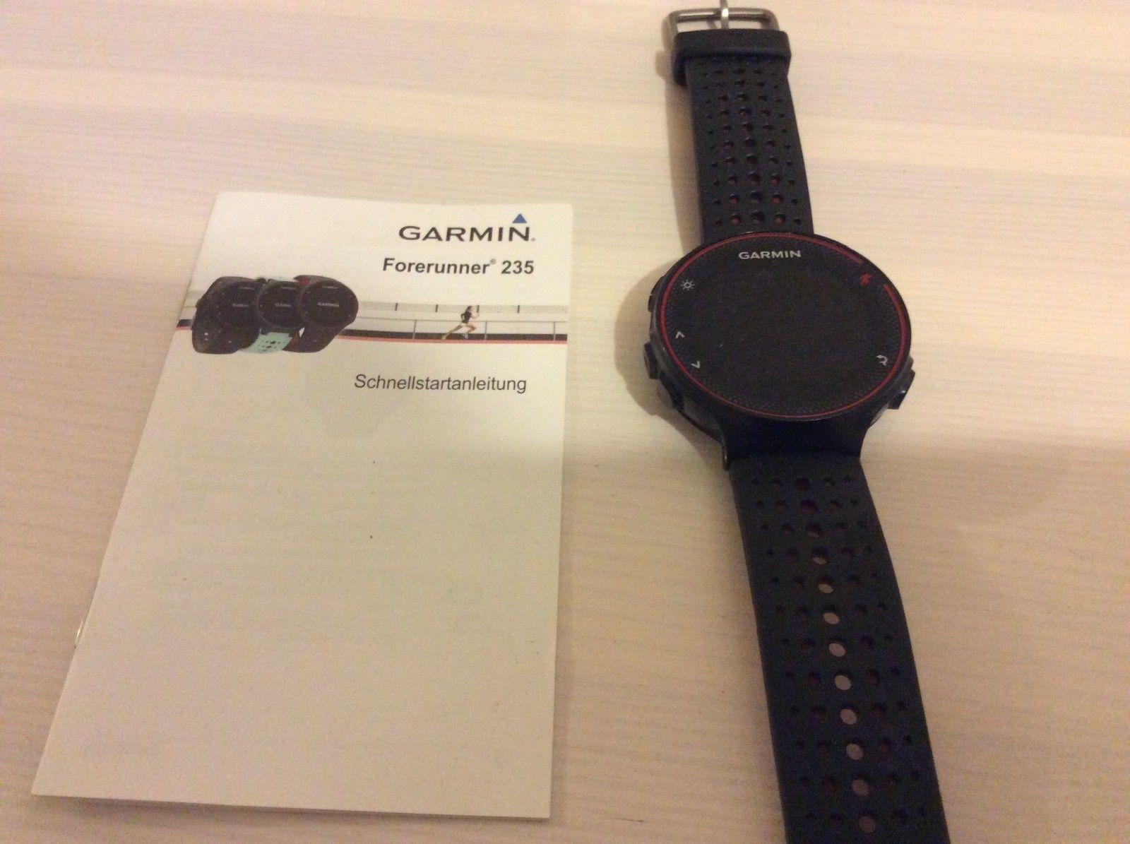 Garmin Forerunner 235 Fittnessuhr Uhr Herzfrequenzmesser mit Smartphonefunktion