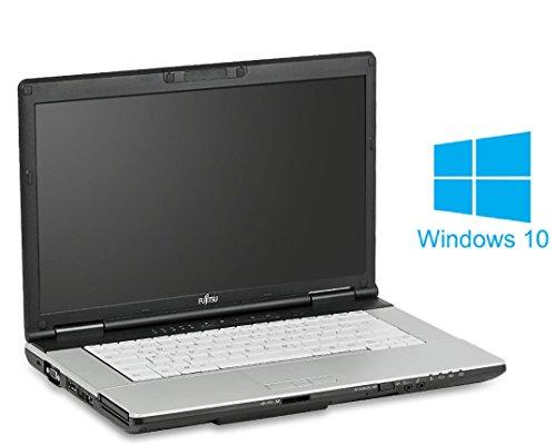 Fujitsu Lifebook E751 Notebook / Laptop | 15 Zoll Display (1366 x 768) | Intel Core i5-2520M @ 2,5 GHz | 4GB DDR3 RAM | 160GB HDD | DVD-Brenner | Windows 10 Home vorinstalliert (Zertifiziert und Generalüberholt)