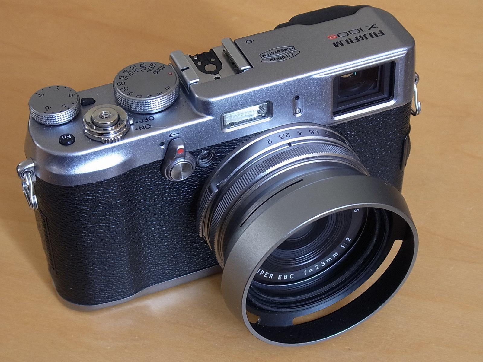 Fuji x-100s Kamera silber Fujifilm x Gehäuse Top-Zustand