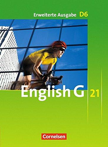 English G 21 - Erweiterte Ausgabe D: Band 6: 10. Schuljahr - Schülerbuch: Kartoniert