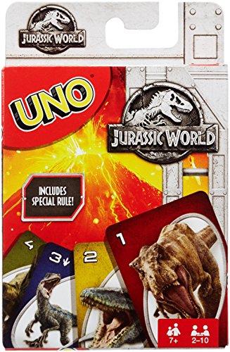 Mattel FLK66 Jurassic World UNO Spiele