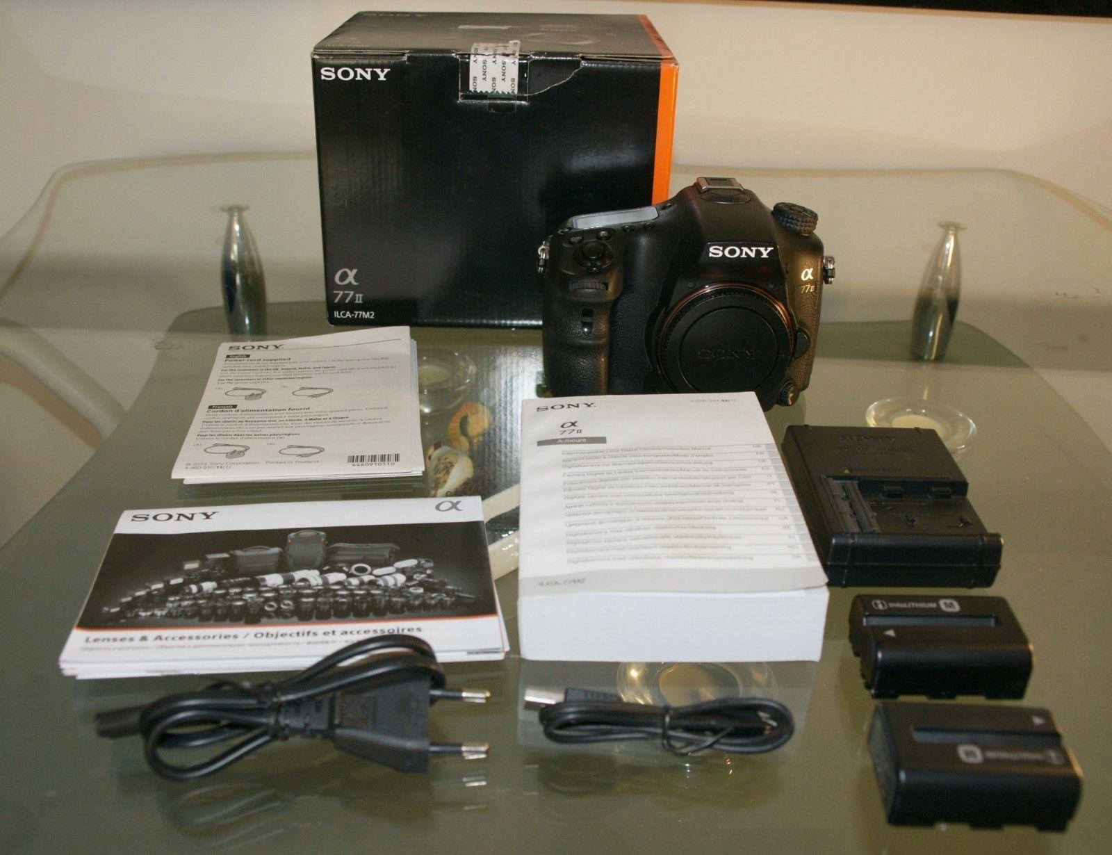 Sony Alpha 77 II (ILCA-77 M2) 24.3 MP - Nur 5911 Auslösungen!TOP Zustand!