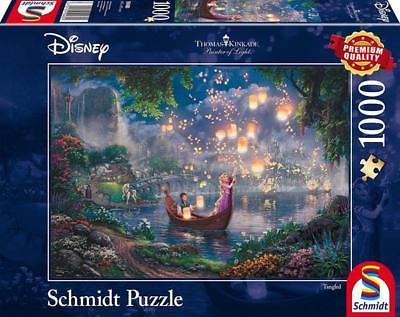 Schmidt 59480 - Puzzle Thomas Kinkade,, Disney Rapunzel