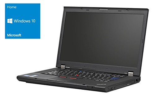 Lenovo Thinkpad T520 Notebook | 15.6 Zoll Display (1920 x 1080) | Intel Core i5-2520M @ 2,5 GHz | 4GB DDR3 RAM | 500GB HDD | DVD-Brenner | Windows 10 Home vorinstalliert (Zertifiziert und Generalüberholt)