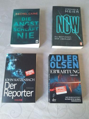 4 Thriller, Der Reporter, Erwartungen, Now, Die Angst schläft nie