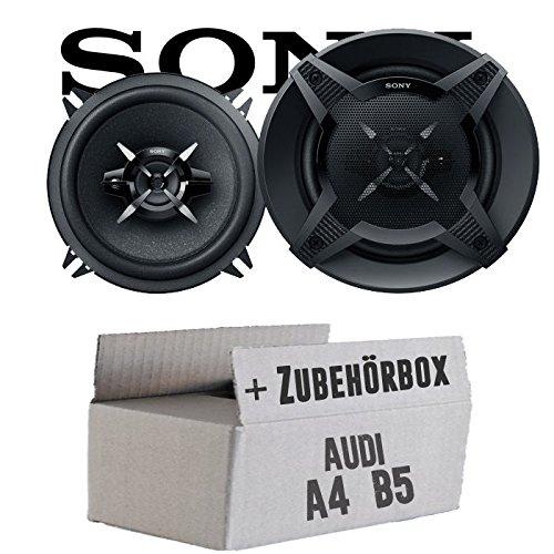 Audi A4 B5 - Sony XS-FB1330 - 13cm 3-Wege Koax-System - Einbauset