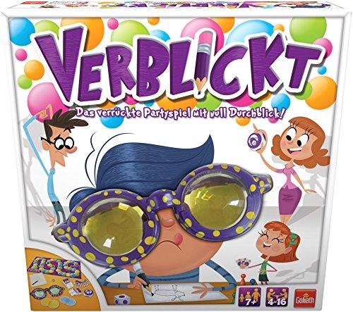 Goliath 76111 - Verblickt, Partyspiel für Jung und Alt, Begriffe Zeichnen und erraten, Lustiges Zeichenspiel für die Ganze Familie, ab 7 Jahren