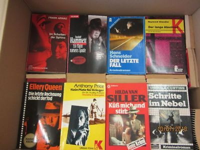 127 ältere Kriminalromane Krimi Detektivromane Spionageromane Thriller