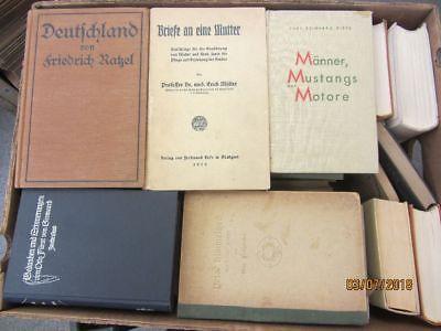45 Bücher antiquarische Bücher Paket 2