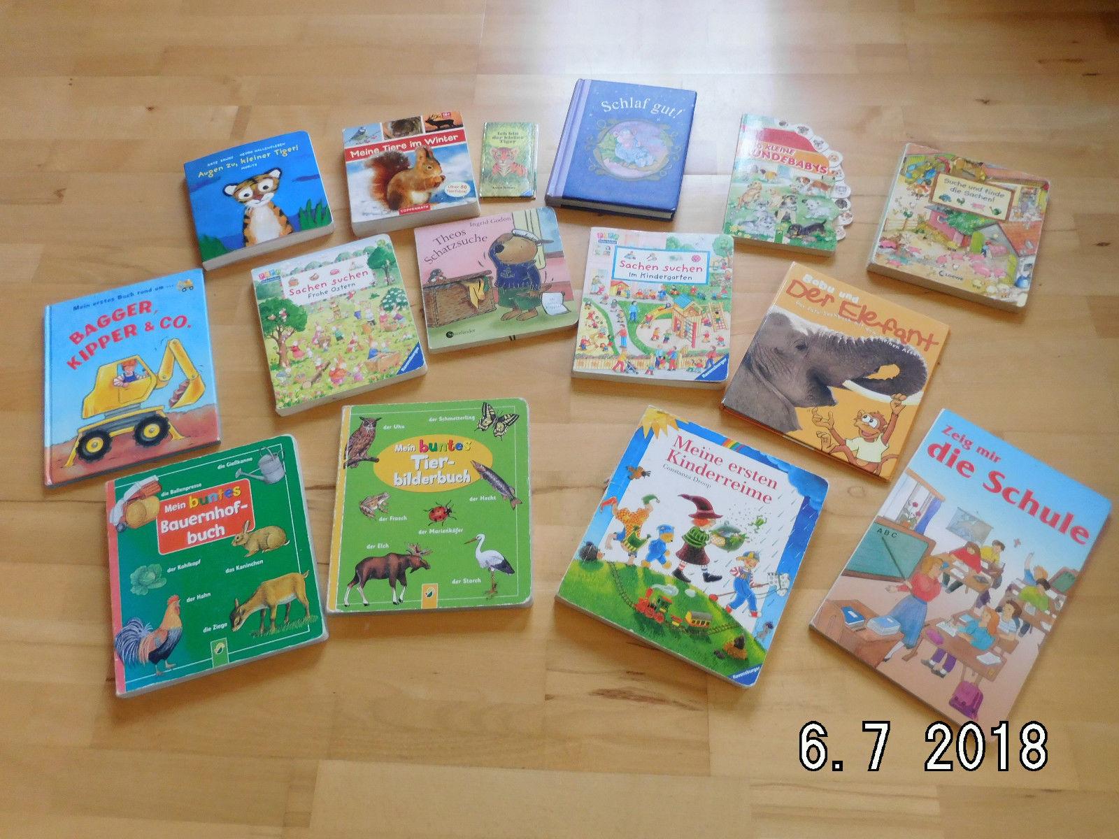15 Kinderbücher für das Alter von 2-4 Jahren