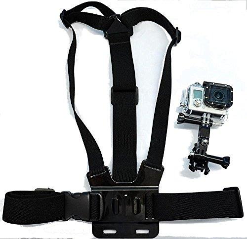 Navitech Brustgürtel / Kamerakörperhalterung für GEEKAM 4K 25Fps HD Sport Action Camera