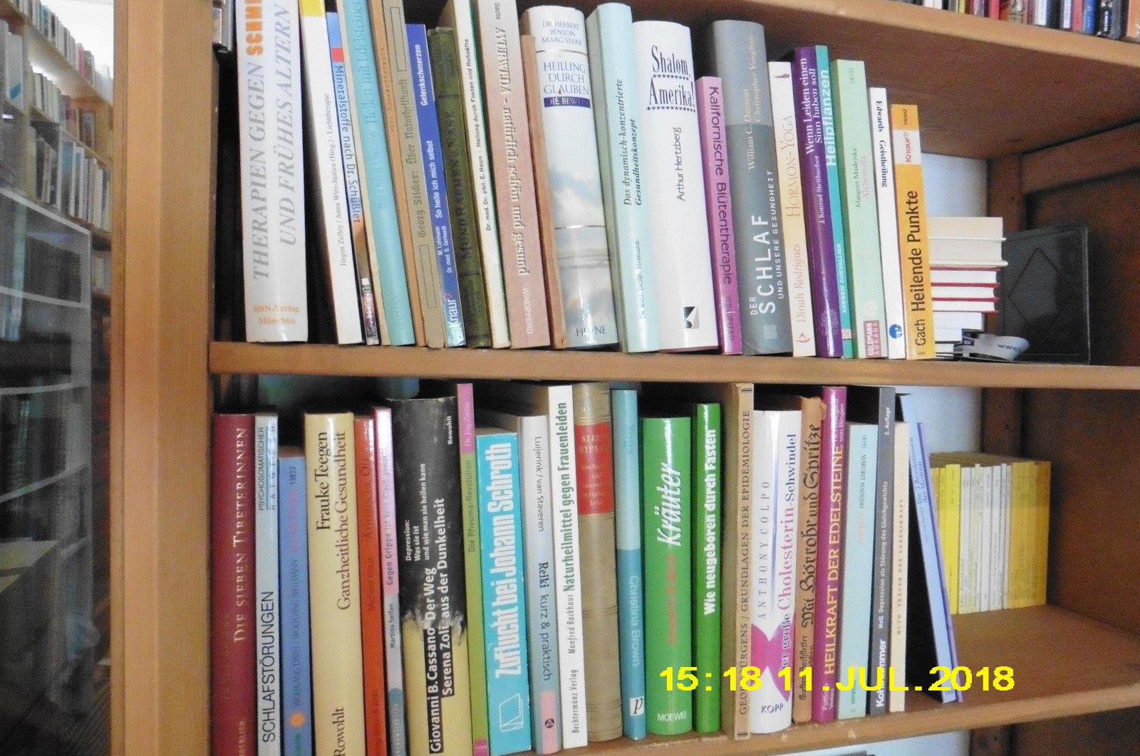 ca. 50 Bde Alternativ - Medizin, Konvolut 2