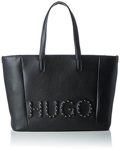 HUGO Damen Mayfair Shopper-s Tote, Schwarz (Black), 15x29x44 cm