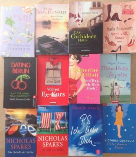 BÜCHERPAKET- 12 tolle Frauenromane für den Sommer