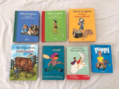 ASTRID LINDGREN Oetinger Bücher-Sammlung, Pippi/Michel/Ronja/Mio/Saltkrokan