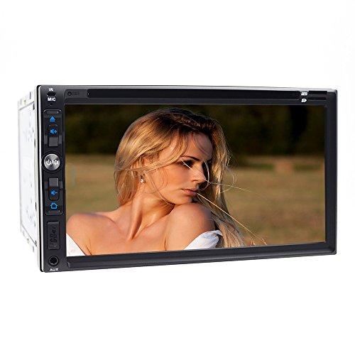 auto-radio DVD-Player, 17,8 cm Navigation System DVD-Player mit Unterstützung /Mikrofon/Bluetooth/USB/TF/AUX/iPod/TV