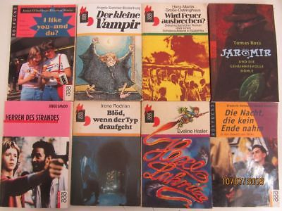 105 Bücher Jugendromane Jugendbücher rororo rotfuchs rororo Verlag