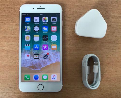 #GRADE A#Apple iPhone 7 Plus - 128GB - Rose Gold (Unlocked)
