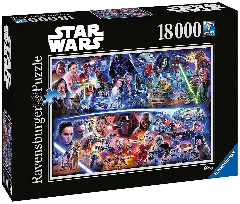 Star Wars Galaktische Zeitreise 18000 Teile Puzzle Ravensburger