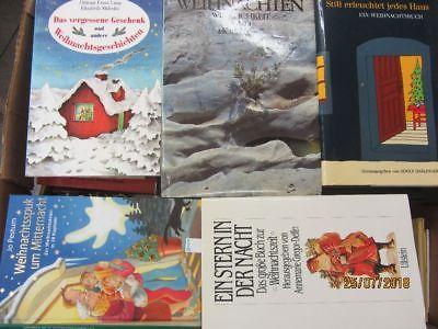 62 Bücher Weihnachten Advent Christfest weihnachtliche Bücher Weihnachtsbasteln