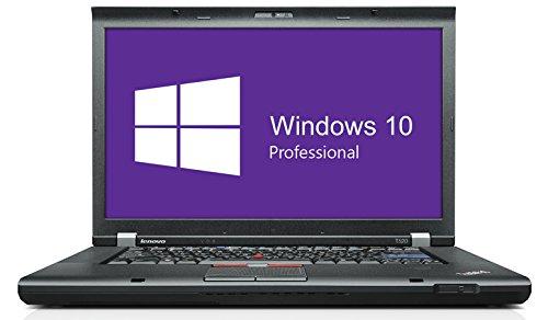 Lenovo ThinkPad T520 Notebook | 15.6 Zoll Display | Intel Core i5-2410M @ 2,3 GHz | 4GB DDR3 RAM | 500GB HDD | DVD-Brenner | Windows 10 Pro vorinstalliert (Zertifiziert und Generalüberholt)