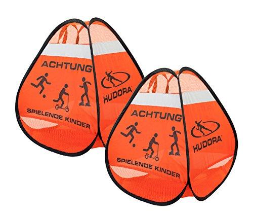 HUDORA Sicherheit Safety Pop Up Set Skateboard Inliner Zubehör - 85071