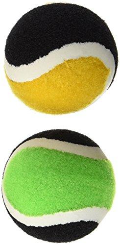 Schildkröt Funsports 2 Ersatz-Klettbälle im Meshbag, rot, orange/schwarz, One Size, 970049