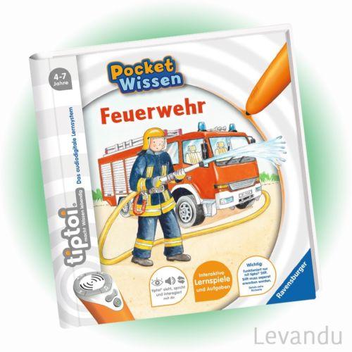 RAVENSBURGER tiptoi® Buch - Pocket Wissen - Feuerwehr - NEU